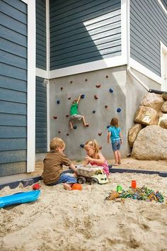 Great outdoor area for the kids