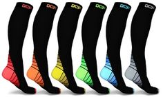 Groupon - DCF Unisex Sports Compression Socks (6-Pack). Groupon deal price: $15.99