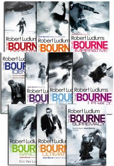 The Bourne Trilogy Series Collection of10 Books by Robert Ludlum #Bourne #BourneLegacy #BourneSupremacy #AdultFiction #Book http://www.snazal.com/the-bourne-trilogy-series-collection-robert-ludlum-10-books---DEALMAN-U11-RobertLudlum-10bks.html