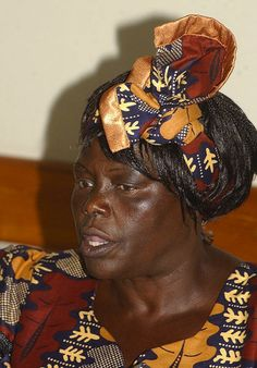 "Wangari Maathai was the first African women to win a Nobel Peace Prize; she re-plant Kenyan forests and they called her Mama Miti, ""Mother of Trees."""