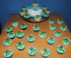 Sea turtle cupcakes!