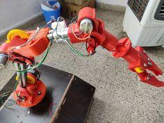 Robot Arm, Robot Design, Puppets, Robots, Nerdy, Arms, Printables, 3d, Robot
