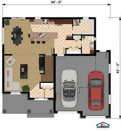 Collection exclusive modèles Laprise - Maisons Laprise - Maisons pré-usinées - Modèle #LAP0346