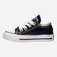 a64e58c75000c2 Left view of Kids  Toddler Converse Chuck Taylor Ox Casual Shoes Toddler  Converse