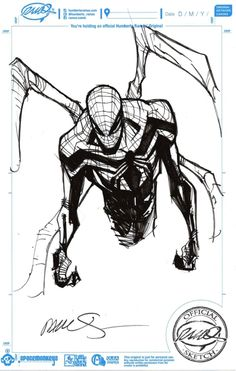 Superior Spider-Man by Humberto Ramos, in Brandon Camacho's Commissions & Sketches Comic Art Gallery Room Comic Book Pages, Comic Book Artists, Comic Book Characters, Comic Artist, Comic Books Art, Marvel E Dc, Captain Marvel, Anatomy Poses, Amazing Spiderman