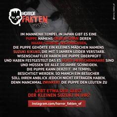 #horrorfakten #horror #fakten #fakt #fact #horrorfact #horrorfakt #textgram… Funny Horror, Creepy Horror, Scary, Creepy Facts, Fun Facts, Wise Quotes, Funny Quotes, Paranormal, Creepypasta