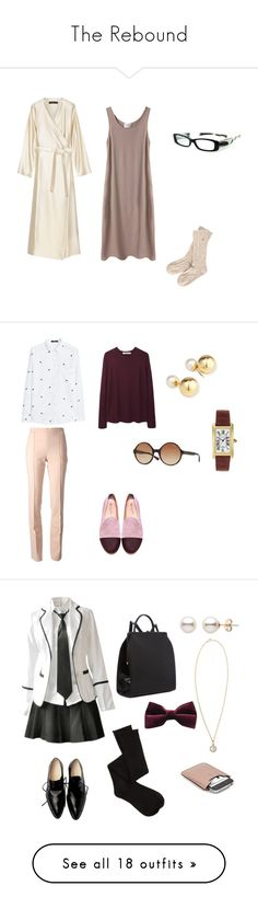 """The Rebound"" by tofly-22 ❤ liked on Polyvore featuring La Garçonne Moderne, The Row, Jack Wills, eyebobs, Chloé, MANGO, Hope, Del Toro, Yoko London and Vogue Eyewear"