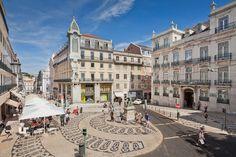 Largo do Chiado em Lisboa, Lisboa