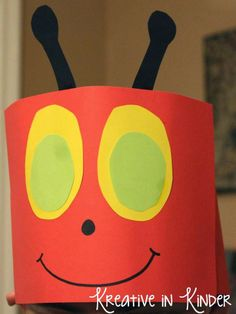 The Very Hungry Caterpillar Activities! Kindergarten Art Activities, Spring Activities, In Kindergarten, Preschool Crafts, Book Activities, Preschool Ideas, Easter Crafts, The Very Hungry Caterpillar Activities, Eric Carle