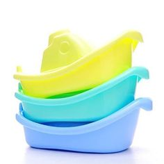 3 Pcs Sealive Cartoon Boat Toy Fleet Stacking Boats Baby Bathing Toyfor 1 years up * For more information, visit image link.