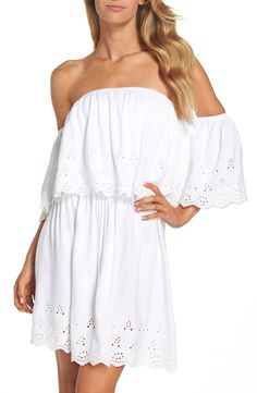 Off the Shoulder Cover-Up Dress
