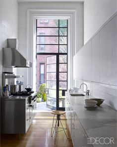 Portfolios - Dering Hall.  Nice kitchen