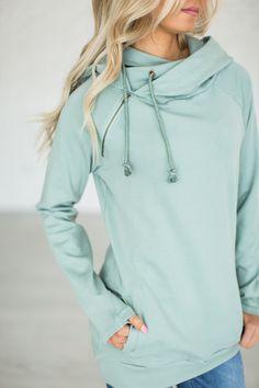 DoubleHood™ Sweatshirt - Seascape