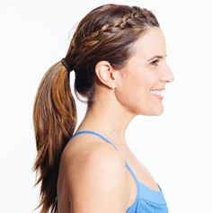 The perfect braid for the gym.