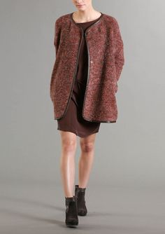 Lanius - Oversize Coat Fall Winter, Autumn, Oversized Coat, Sustainable Fashion, Mantel, Sweaters, Collection, Archive, Fashion Styles