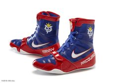 manny pacquiao shoes | Darren Rovell's photo: Manny Pacquiao's Nike shoes for tomorrow night ...