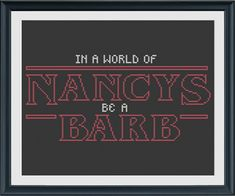 Stranger Things Cross Stitch Pattern INSTANT DOWNLOAD by bosscheck
