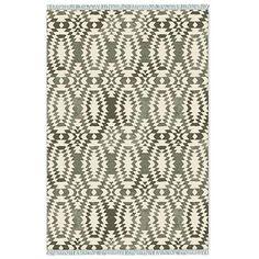 Palmette Chenille Wool Kilim– Special Order #westelm