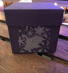 Favour Boxes with flower detail by ShowstopperEvents on Etsy Favour Boxes, Wedding Favours, Handmade Wedding, Silver Glitter, Twine, Color Schemes, Favors, Wedding Decorations, Gift Wrapping
