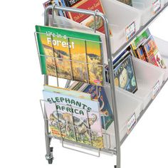 A great way to display books across all reading levels!