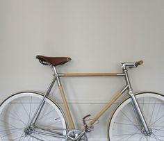 Félix Guyon on Behance Velo Retro, Velo Vintage, Retro Bike, Vintage Bikes, Objet Deco Design, Wood Bike, Fixed Gear Bike, Bicycle Maintenance, Mountain Bicycle