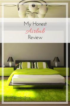 Airbnb has grown in popularity in recent years to be a true contender with hotels. I'll provide my honest Airbnb review in this post, as well as the pros and cons for selecting this over other stay options. #airbnb #lodging #travel