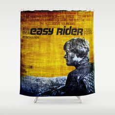 Easy Rider Shower Curtain by Groovyal - $68.00