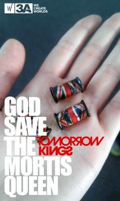 God Save The Mortis Queen  #threeA #AshleyWood #Popbot #TomorrowKing #UnitedKingdom #England #toy #actionfigure #toyplanet #toycommunity #toys #hobby #toycollector #art #collectibles #vinyl #designertoys #toyphoto #toyphotography #collecting #photography #photo #toylife