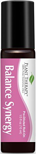 Plant Therapy Balance for women Synergy PreDiluted Essential Oil RollOn Ready to use 100 Pure Therapeutic Grade Essential Oils Diluted in Fractionated Coconut Oil 10 ml 13 oz ** Visit the image link more details. Coconut Oil Pulling, Coconut Oil For Acne, Diluting Essential Oils, Pure Essential Oils, Coconut Hair Treatment, Essential Oil Menstrual Cramps, Organic Tea Tree Oil, Natural Makeup Remover, Plant Therapy