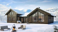 Ranch, Coen Brothers, Villa, House Ideas, Cabin, Modern Living, House Styles, Inspiration, Flat
