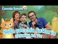 Nella vecchia fattoria - Cantata dalle famiglie italiane - Canzoni per bambini di Coccole Sonore - YouTube