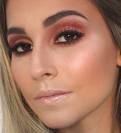#makeup#make#salao#brasilia#brunatavares#gloss#maquiagem#produção#modelo#maquiadora#makeupforever#inglot#kryolan#PausaParaFeminices Makeup Style, Septum Ring, Instagram Posts, Make Up, Templates