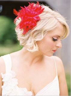 postcards and pretties: short hair brides