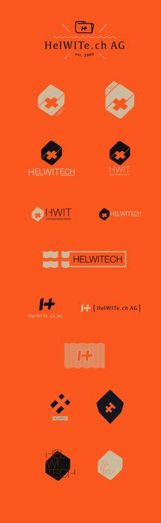 Logo / Helwitech by Elia Pirazzo