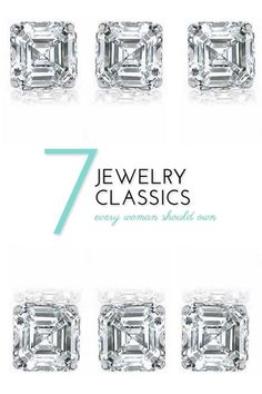 For a timeless look, build your jewelry collection to include these 7 all-time classics. Every woman should have these in her jewelry box! Diamond studs are small enough to be worn during the day, but also look beautiful with an elegant dress at night. A personalized ring is a sentimental piece that sets you apart. You could have your initials engraved in a ring, or simply wear your birthstone. Every girl needs a string of pearls. Read on as eBay outlines all 7 jewelry classics.