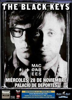 Falta solo una semana para el esperado concierto de The Black Keys en el Palacio de Deportes de la Comunidad de Madrid.