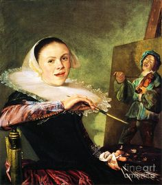 Judith Leyster - Judith Jans Leyster Self-Portrait (also Leijster) (July 28, 1609 – February 10, 1660) was a Dutch Golden Age painter.