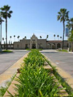 Glendale's Historic Train Station-Renamed the Larry Zarian Transportation Center, after former Mayor Larry Zarian