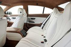 BMW 6 Series Gran Coupe Interior via Autocar