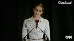 Emma Watson gives an inspiring speech about challenging gender stereotypes and recognizing the fundamental equality of all men and women.