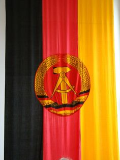 DDR or East Germany Flag