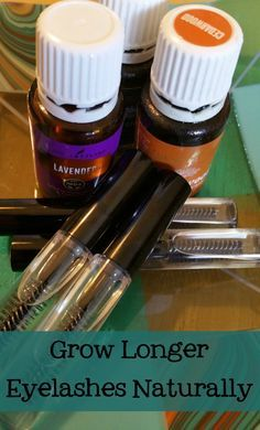 This serum helped me grow longer eyelashes naturally, using essential oils!