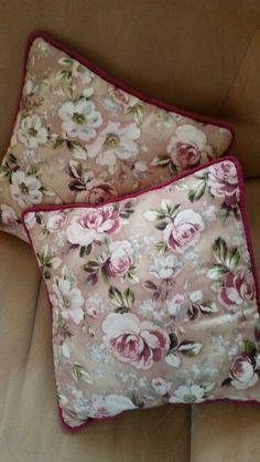 Hand made -gorgeous Roses kopfkissen
