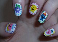 Colorful Print Nail Ideas - Fashion Diva Design