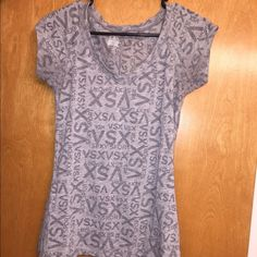 Victoria Secrets Sport shirt. Victoria Secrets Sport shirt. Worn once and is in good condition. Victoria's Secret Tops Tees - Short Sleeve