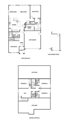 Viceroy: This 2-story plan features 2,697 sq.ft. of comfortable living space…