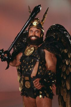Voltan the King of Hawkmen from Flash Gordon 80's played by Brian Blessed