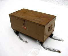 Industrial KNAACK Tool Box on Casters  Winter by rerunzvintageshop, $289.00