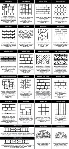 Patio paver ideas for your garden or backyard. Stone, brick, and block paver design ideas. Backyard Patio, Backyard Landscaping, Landscaping Edging, Landscaping Ideas, Diy Pavers Patio, Patio Plants, Stencil Concrete, Concrete Texture, Garden Design