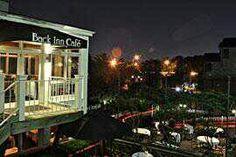 Back Inn Cafe- romantic dinner for 2 :)